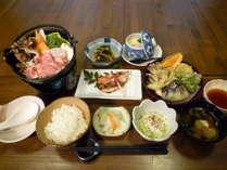 ぶーちゃんがお好きなら「奥出雲ポークの舞茸鍋がおすすめです!」☆八重垣御膳☆【夕食付】