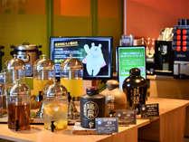◆24時間フリーラウンジ◆ソフトドリンク・泡盛・コーヒー・紅茶などが飲み放題
