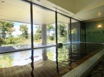 【ふるさとの湯(内風呂)】ベルナティオでしか入れない「あてま温泉」をご堪能ください。