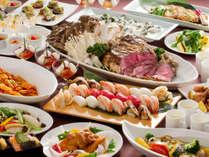 【コスモス(夕食)】和洋中の日替わりメニューをご提供いたします。