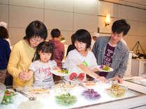 【コスモス(夕食)】新鮮野菜もいっぱい食べよう♪
