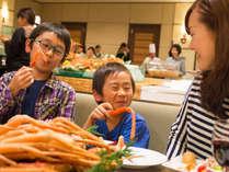 【コスモス(夕食)】冬期限定!夕食バイキングに「ズワイガニ」食べ放題登場!(11/12~3/31)