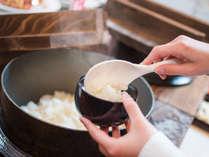 【コスモス(夕食)】美味しいお米はもちろん「魚沼産コシヒカリ」(新米の時期は例年10月中旬~)