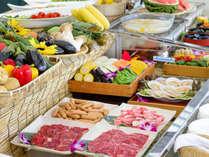 【バーベキューガーデン】新潟県産のお肉や旬の野菜豊富なバーベキュー