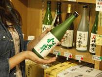 【売店】新潟の地酒や魚沼産コシヒカリなど、新潟・十日町ならではのお土産をご用意。