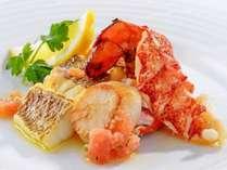 【アイリス(ディナー)】おすすめコース:本日の魚料理(一例)