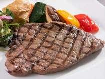 【アイリス】おすすめコース:にいがた和牛赤身肉のステーキ