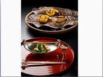 ■夕食■季節ごとに変わる夕食 地元の食材を。~冬~
