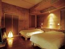 ■客室■【はなれ舎】ベッドルーム
