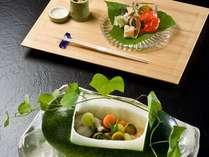 ■夕食■夏の夕食イメージ~先付、前菜~