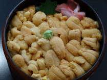 積丹産ウニ丼(6月より8月31ご賞味下さい。)