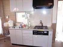 キッチンでは自炊が可能です