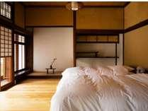 寝室には心地のよい光が差し込みます
