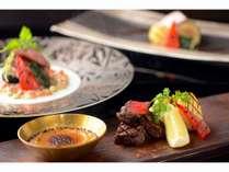 プリフィックススタイルのメイン肉料理