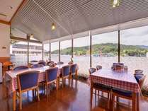 *お食事処/のどかな時間が流れる自然豊かな篠山を眺めながらゆったりとお食事をお愉しみ下さい。