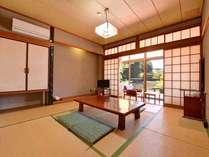 *和室105号室/ご夫婦やカップルにおすすめ!畳の香りがほのかに薫るお部屋でのんびりとお過ごし下さい。