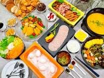 【朝食】和洋30種の朝食ブッフェは大人気!