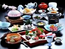 【この春限定!!】 ☆「中トロ」など六種盛!!彩りも豊かな会席料理☆ 「美味しいものを少しずつプラン」