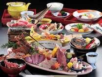 料理長おすすめの食材が目白押し!! 味覚の秋の特別会席【海の幸いっぱいプラン】