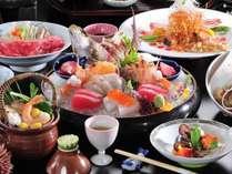 松茸土瓶蒸しと豪華7種のお造りを満喫したい方におすすめ!!【魚!魚!!お造り大満足プラン 】