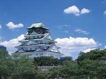 キャッスルビュー側のお部屋からは大阪城がご覧頂けます☆