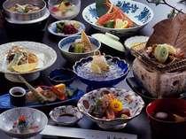 ●富山の旬な料理が満喫できる会席膳