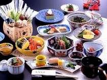 ●富山湾の味覚を会席膳で 夕食イメージ