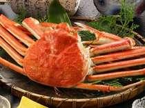●本ズワイ蟹1杯食べごたえあります。