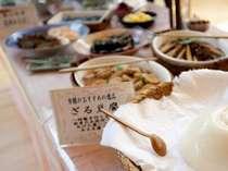 朝食バイキング 自家製ざる豆腐