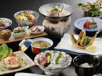 ●富山湾の魚介を使った延対寺荘自慢の料理