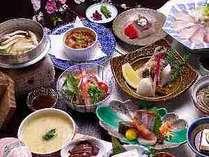 ●夕食イメージです。日によりメニューは変わります。