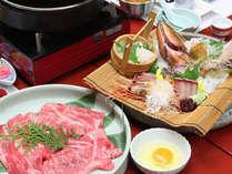 【富山の幸】富山産和牛を存分に楽しめるすき焼き鍋は通年でお楽しみいただけます。