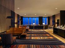 【ウェスティンエグゼクティブクラブラウンジ】クラブフロア(35・36階)にご滞在のお客様専用ラウンジです。