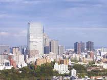 客室は仙台トラストタワーの高層階にございます。