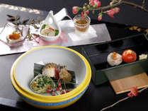 【日本料理 一舞庵(37階)】冬の料理イメージ