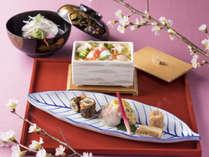 【日本料理 一舞庵(37階)】春の料理イメージ