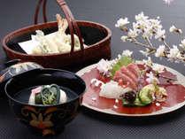 【日本料理 一舞庵(37階)】春の料理(イメージ)