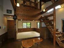 コテージ(例)★一戸建てなので周りを気にせず毎年訪れる方も多く、プチ別荘気分が味わえます♪