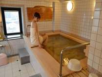 【木曽檜巴の湯】当館7階。女湯