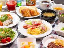 【和洋朝食バイキング一例】