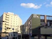 当ホテルは京王線東府中駅北口目の前にございます。