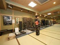 <大島紬美術館>貴奄美大島紬を各種展示。かなりレア物も!