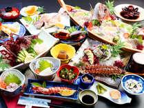 【贅沢三昧】伊勢海老&アワビ&旬魚の姿造りで決まり!