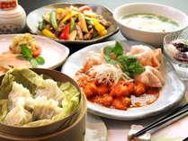 【夕食一例】岩手の食材を中華にアレンジした本格中華料理フルコースをお召し上がり下さい♪