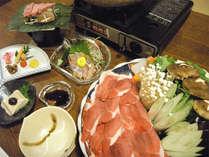 【冬限定】お料理グレードアップ♪ぼたん鍋会席★温泉と鍋であったか冬の休日★