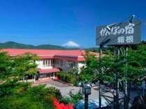 富士山を望む絶景の宿