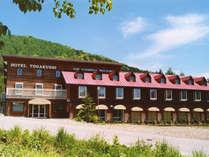 *当ホテルは周囲を大自然に包まれた、とても空気の良い場所にあります。