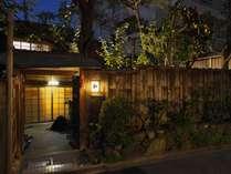 外観(夜)イメージ|京都岡崎の町家 和