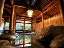 【登録文化財 天平大浴堂】総檜造りで国内随一。荘厳な雰囲気の中で、ゆったりお寛ぎください*