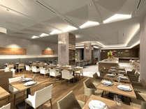朝食は和洋食ブッフェをご用意!1階「カフェ コントレイル」にてAM7:00-10:00までお召し上がりいただけます